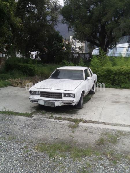 Chevrolet Montecarlo Version sin siglas V6 3.1i 12V usado (1982) color Blanco precio BoF400