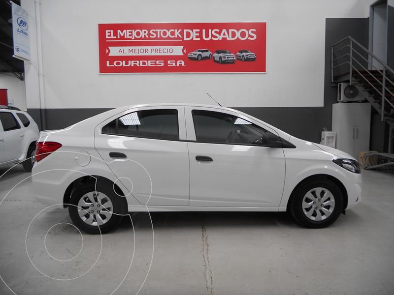 Foto Chevrolet Onix Joy Plus Base usado (2021) color Blanco precio $1.500.400