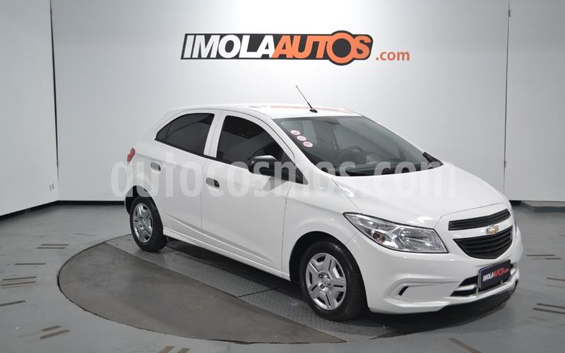 Chevrolet Onix Joy LS + usado (2018) color Blanco Summit precio $895.000