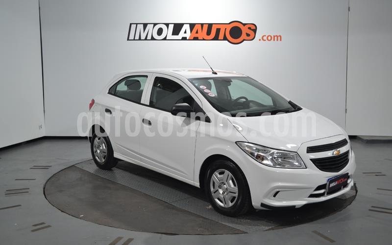 Chevrolet Onix Joy LS + usado (2018) color Blanco Summit precio $880.000