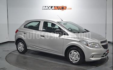 Chevrolet Onix Joy LS + usado (2018) color Plata precio $475.000