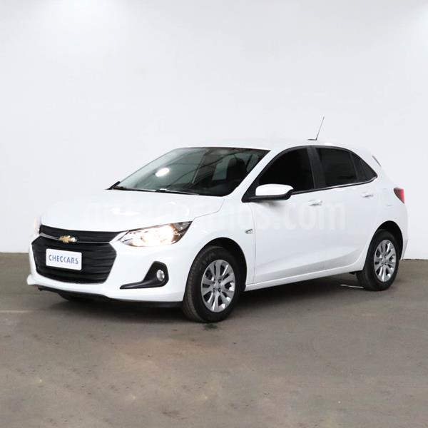 Chevrolet Onix Plus 1.2 LT Pack Tech Onstar usado (2020) color Blanco Summit precio $1.264.800