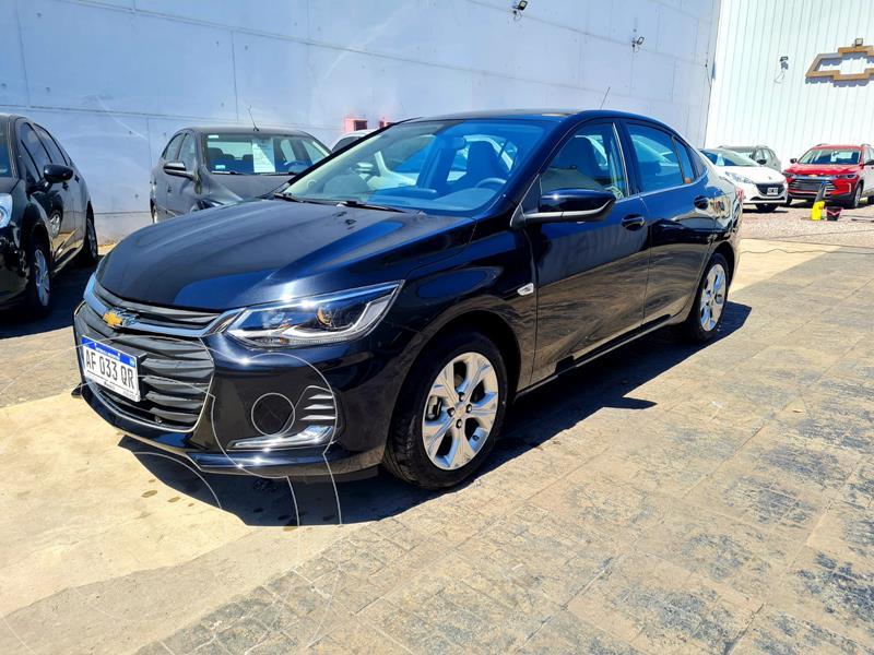 Foto Chevrolet Onix Plus 1.0T Premier II usado (2021) color Negro financiado en cuotas(anticipo $2.080.800)