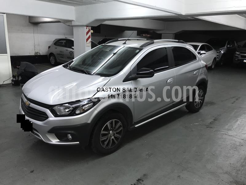 Chevrolet Onix Activ usado (2017) color Gris Plata  precio $770.000