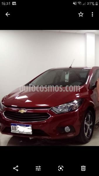 Chevrolet Onix LTZ usado (2017) color Rojo precio $810.000