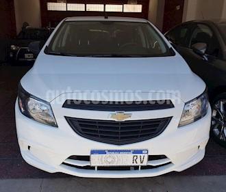 Chevrolet Onix LS Joy + usado (2019) color Blanco precio $610.000