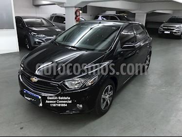 Chevrolet Onix LTZ Aut usado (2018) color Negro precio $790.000