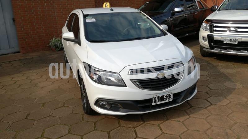 Chevrolet Onix 1.4 LTZ MT5 (98cv) usado (2013) color Blanco precio $700.000