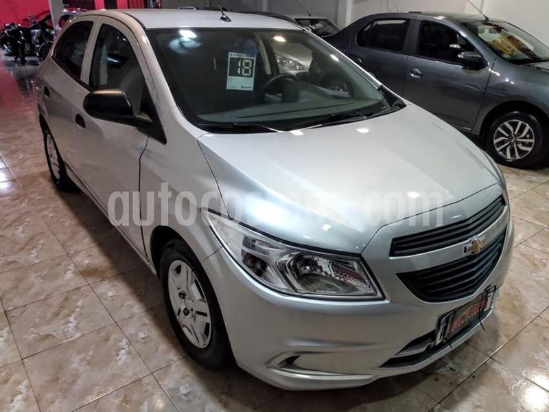 Chevrolet Onix LS Joy + usado (2018) color Gris Claro precio $910.000