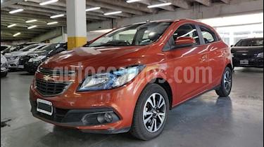 Chevrolet Onix LTZ usado (2013) color Naranja precio $420.000