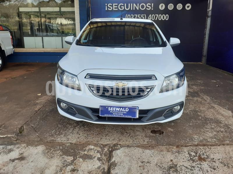 Chevrolet Onix 1.4 LTZ AT6 (98cv) usado (2016) color Blanco precio $770.000