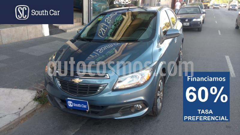 Chevrolet Onix LTZ Aut usado (2016) color Azul Celeste precio $905.000