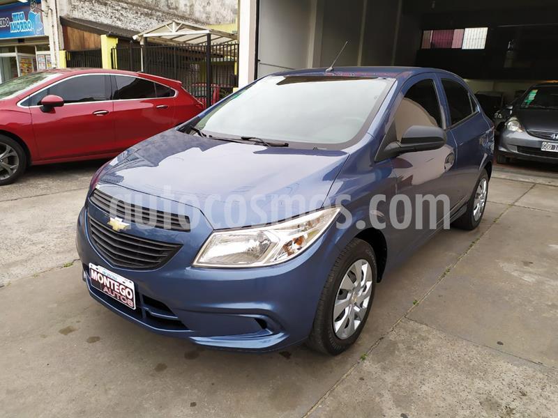 Chevrolet Onix LT usado (2014) color Azul precio $680.000
