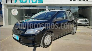 Chevrolet Onix LS Joy + usado (2018) color Negro precio $649.000
