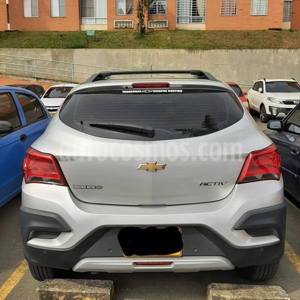 Chevrolet Onix Active usado (2019) color Gris Plata  precio $48.000.000