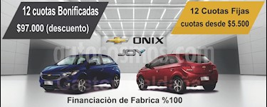 Foto venta Auto nuevo Chevrolet Onix LS Joy color A eleccion precio $676.900