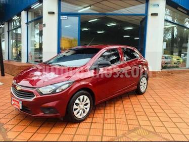Foto venta Auto usado Chevrolet Onix LT (2018) color Bordo precio $465.000