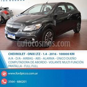 Foto venta Auto usado Chevrolet Onix LTZ (2016) color Gris Oscuro precio $475.000