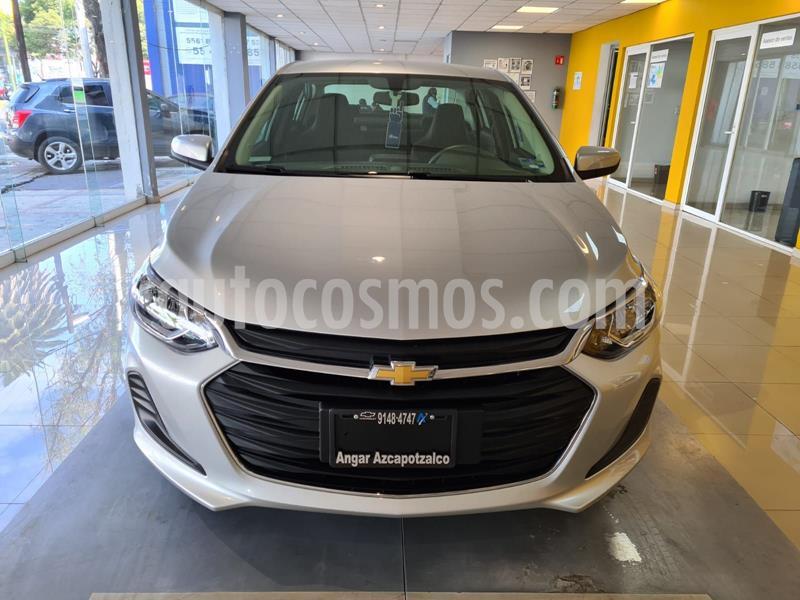 Chevrolet Onix LT usado (2021) color Plata Dorado precio $262,700