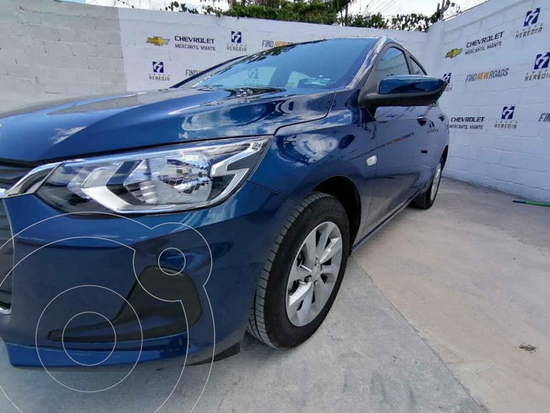 Foto Chevrolet Onix LT Aut nuevo color Azul precio $319,400