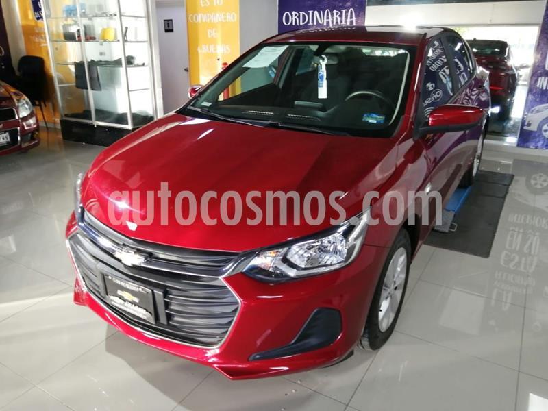 Chevrolet Onix LT usado (2021) color Rojo precio $269,000
