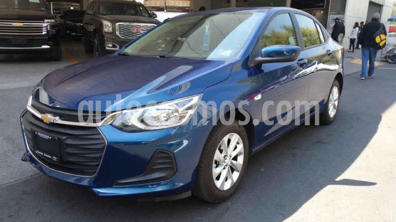 Chevrolet Onix LT usado (2021) color Azul precio $287,600