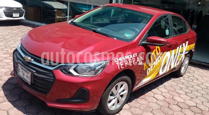 Chevrolet Onix LT usado (2021) color Rojo precio $253,700