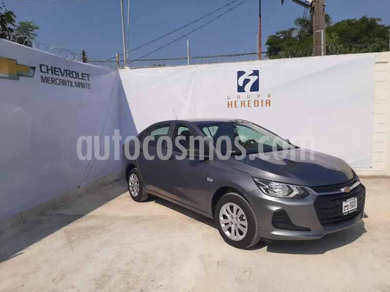 Chevrolet Onix LS Aut nuevo color Gris precio $263,200