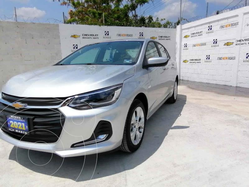 Foto Chevrolet Onix Premier Aut nuevo color Plata precio $343,900