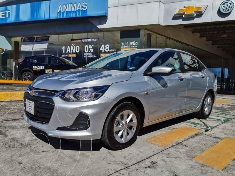 Foto Chevrolet Onix LT Aut usado (2021) color Plata precio $277,000