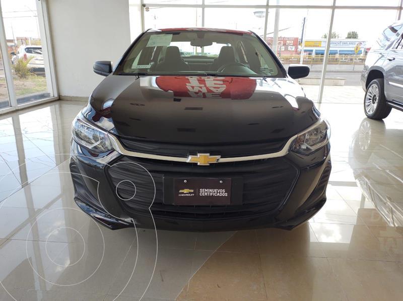 Foto Chevrolet Onix LS usado (2021) color Negro precio $245,000