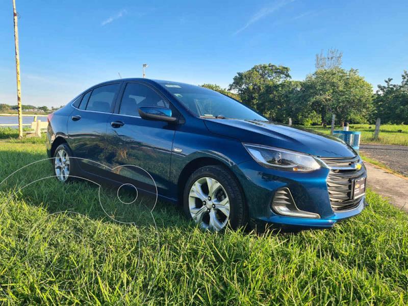 Foto Chevrolet Onix Premier Aut usado (2021) color Azul precio $320,000