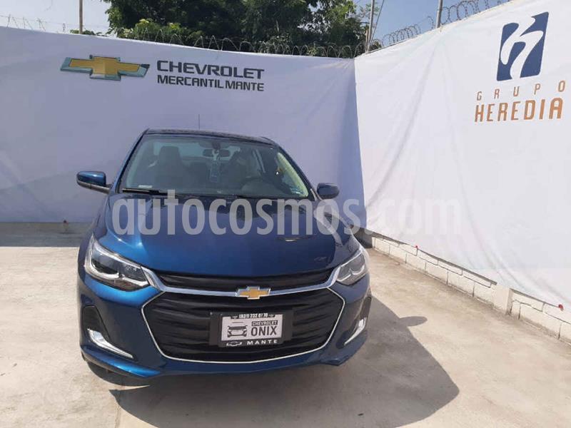Chevrolet Onix Premier Aut nuevo color Azul precio $305,800