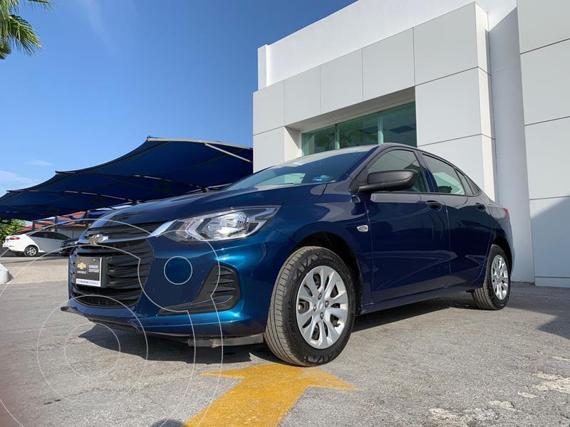 Foto Chevrolet Onix LS Aut usado (2021) color Azul Marino precio $331,500