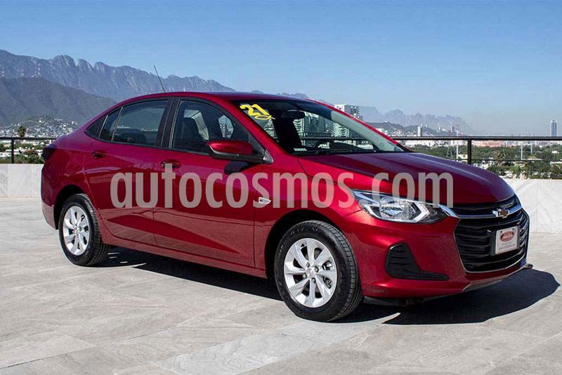 Chevrolet Onix LT Aut usado (2021) color Rojo precio $249,700