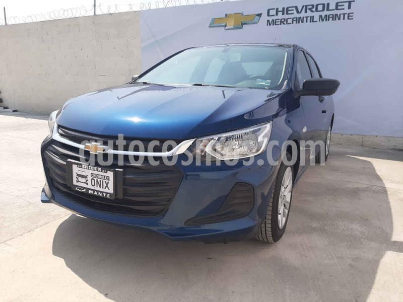 Chevrolet Onix LS nuevo color Azul precio $242,400