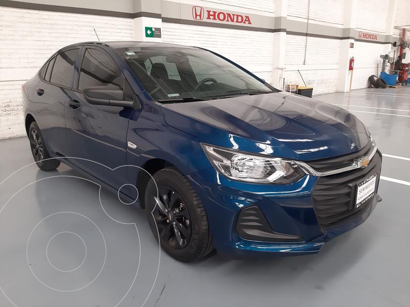 Foto Chevrolet Onix LS Aut usado (2021) color Azul precio $245,000
