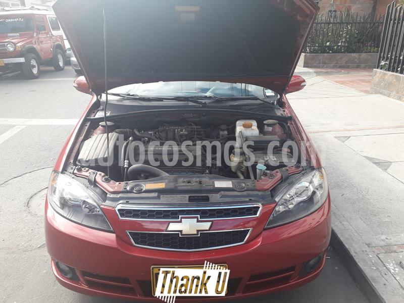 Chevrolet Optra Advance 1.6L usado (2012) color Rojo precio $21.600.000