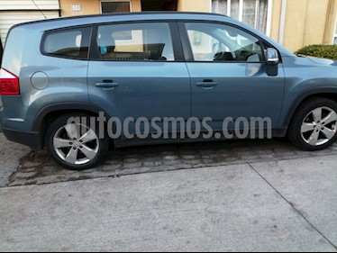 Chevrolet Orlando LT 2.4 Aut Full usado (2014) color Azul precio $8.000.000