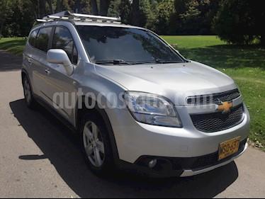 Chevrolet Orlando 2.4 LT Aut usado (2013) color Plata precio $42.900.000