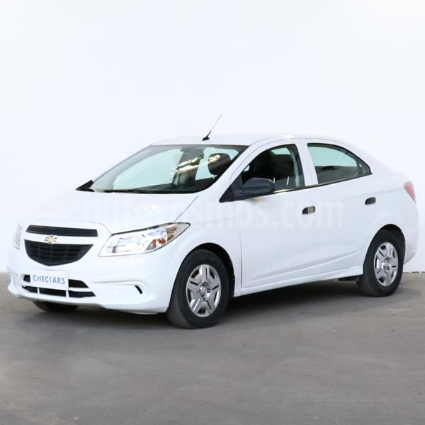 Chevrolet Prisma Joy LS + usado (2017) color Blanco precio $713.000