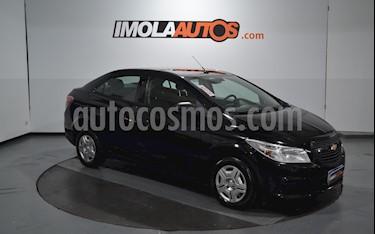Chevrolet Prisma Joy LS + usado (2018) color Negro precio $640.000