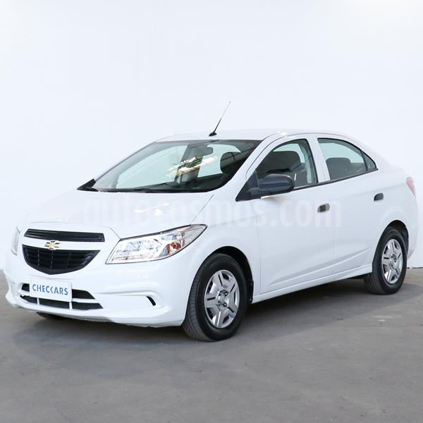 Chevrolet Prisma Joy LS + usado (2017) color Blanco precio $727.500