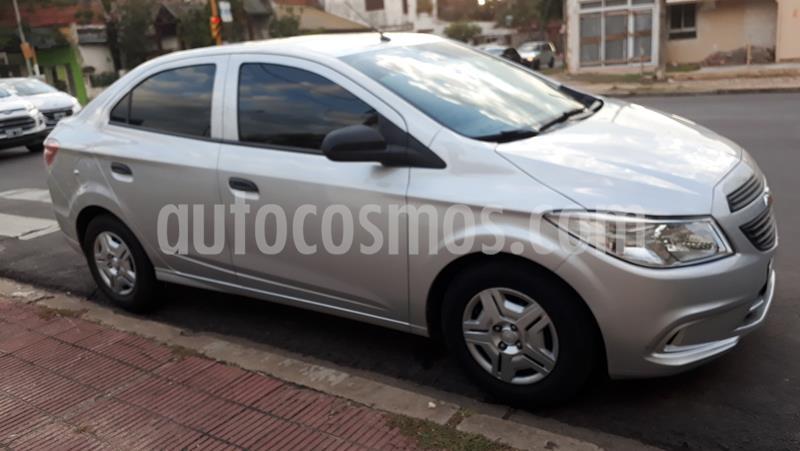 Chevrolet Prisma Joy LS + usado (2018) color Plata precio $750.000