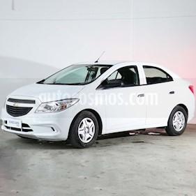Chevrolet Prisma Joy LS + usado (2018) color Blanco precio $457.000