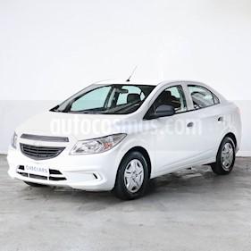 Chevrolet Prisma Joy LS + usado (2017) color Blanco precio $856.000