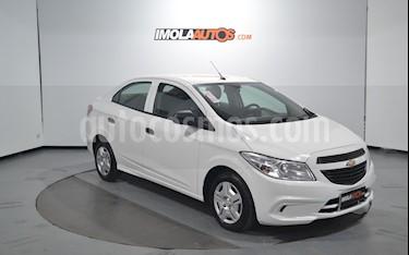 Chevrolet Prisma Joy LS + usado (2018) color Blanco precio $445.000