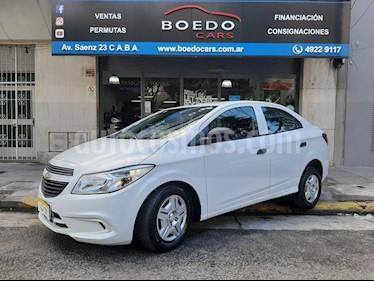 Chevrolet Prisma - usado (2018) color Blanco precio $469.900