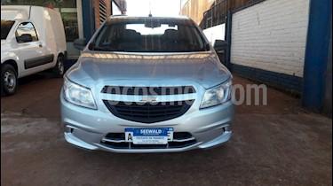 Foto venta Auto usado Chevrolet Prisma - (2014) color Gris Plata  precio $395.000