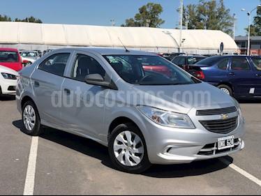Chevrolet Prisma LT usado (2015) color Gris Plata  precio $430.000